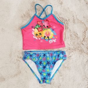 Shopkins 2 piece Bathing Suit